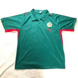 Puma Federation of Senegal soccer polo/ M